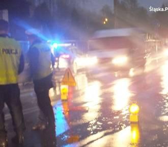 Policyjny pościg w Sosnowcu. Próbował potrącić policjanta, wpadł w Siewierzu