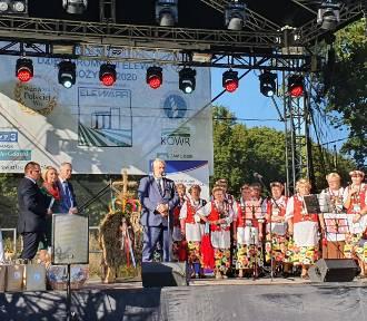 Minister rolnictwa na ogólnopolskich dożynkach spółki Elewarr