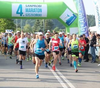 Maraton Szczeciński. Z Polic do Szczecina pobiegło ponad 500 biegaczy [FOTOGALERIA, WIDEO]