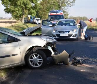 Pięć osób rannych w wypadku na drodze Wrocław - Lubin