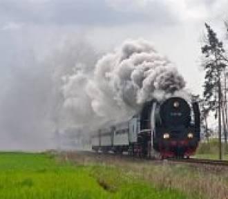 Ze Zduńskiej Woli do Karsznic pociągiem  retro
