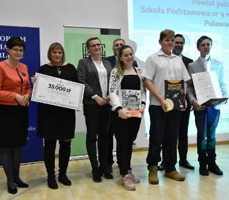 Szkoła z Puław wygrała 35 tysięcy złotych w wojewódzkim konkurskie o ochronie środowiska