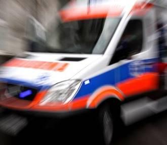 Dziecko wypadło z okna wieżowca na Bałutach