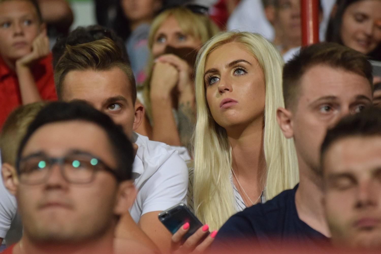 Piękne fanki Rakowa Częstochowa na meczach w Bełchatowie