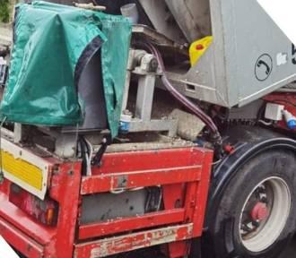 Wypadek pod Wrocławiem. Maszyna do betonu wciągnęła mężczyznę
