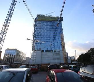 Tragiczny wypadek na budowie biurowców w Katowicach