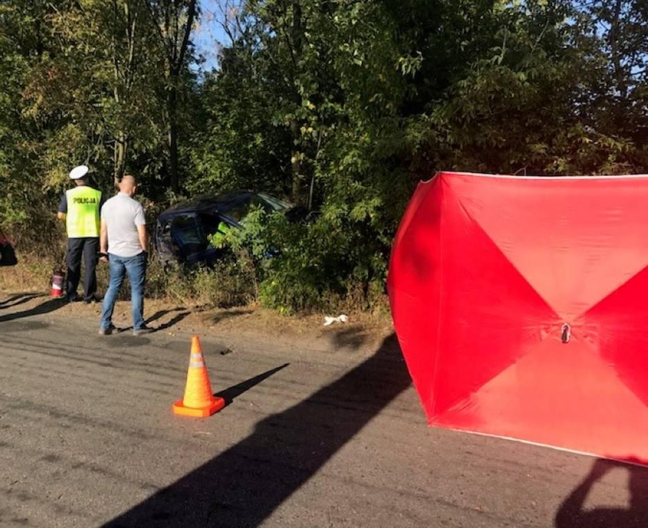 Śmiertelny wypadek na drodze Września-Witkowo. Zginęła 41-letnia kobieta