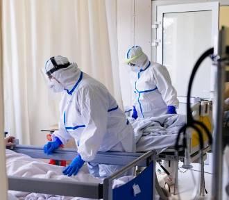 W ciągu ostatniej doby w Lubelskiem odnotowano kilka zgonów osób z koronawirusem
