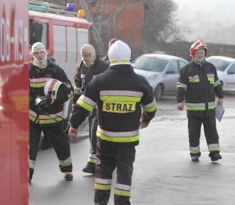 Poranna stłuczka z udziałem autobusu na Osowej Górze w Bydgoszczy