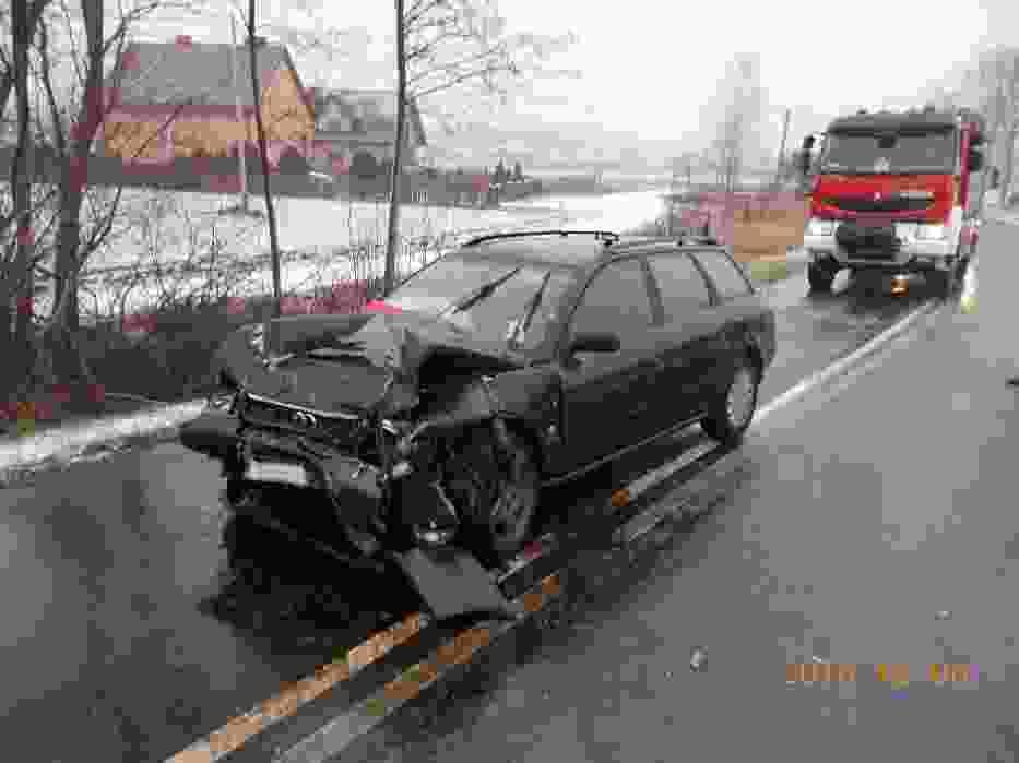 Wypadek w Barczygłowie