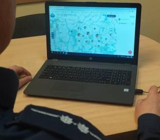 Policjanci ostrzegają przed oszustwami podczas zakupów internetowych