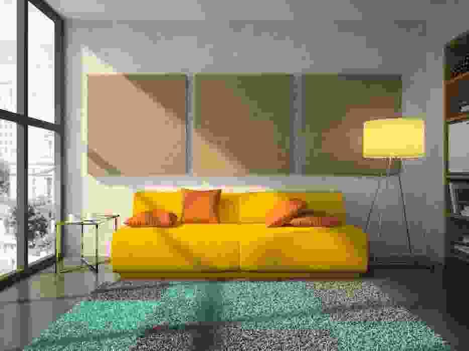 Żółte meble i dodatki powinny zdecydowanie poprawić nasz nastrój jesienią