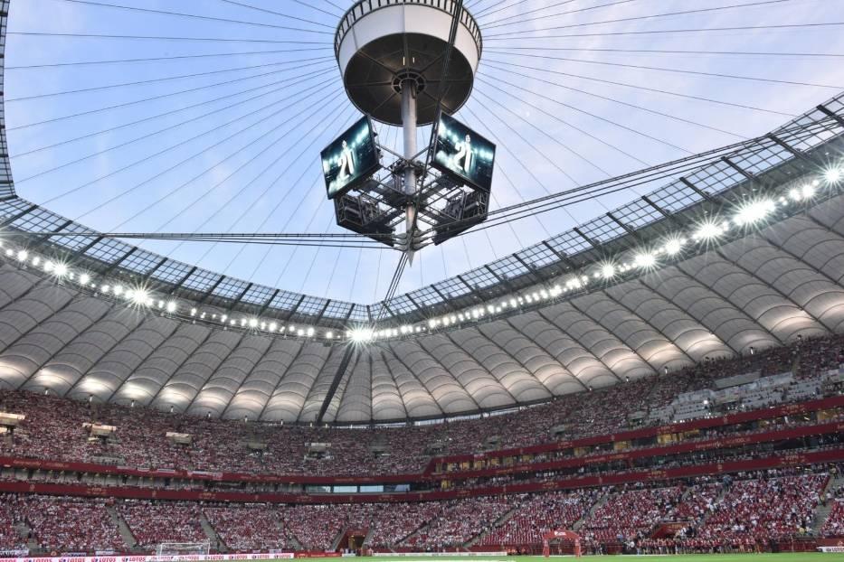 Polska - Izrael 4:0. Koncert Biało-czerwonych na Narodowym. Wspaniały doping kibiców