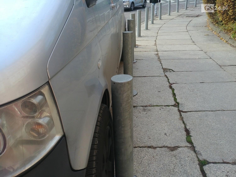 Mistrzowie parkowania na Podzamczu - 28 listopada 2019
