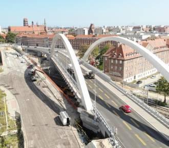 Trwa budowa wiaduktu Biskupia Górka [zdjęcia, wideo]