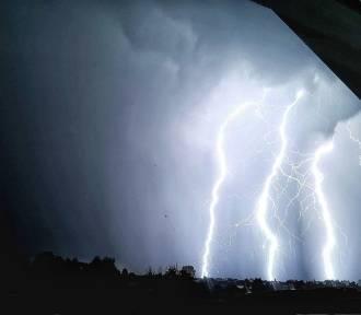 Fascynujące zdjęcia burzy, która przeszła nad Podkarpaciem