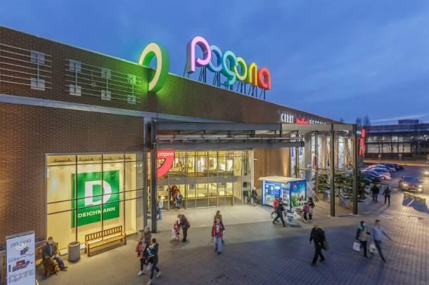 centrum handlowe pogoria nowe logo nowe otwarcie foto