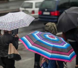Deszcz i burze w poniedziałek na Opolszczyźnie