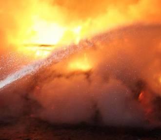 Mężczyzna zginął w pożarze domu w Pietrzykowie