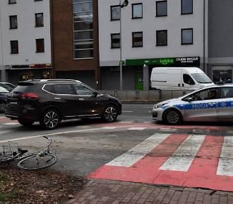 Oleśnica: Potrącenie na ul. Wojska Polskiego. Ucierpiał 72-latek (ZDJĘCIA)
