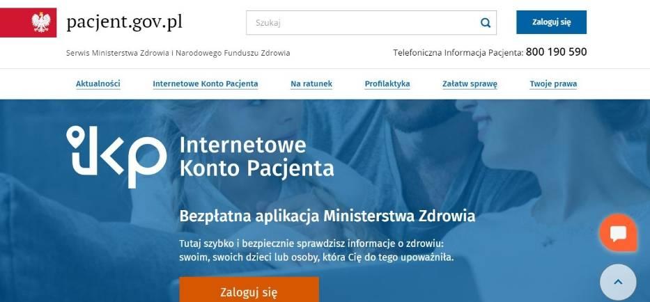 IKP (Internetowe Konto Pacjenta)