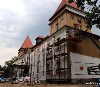 Zmieniamy Wielkopolskę. Pałac w Buczu na finiszu ZDJĘCIA