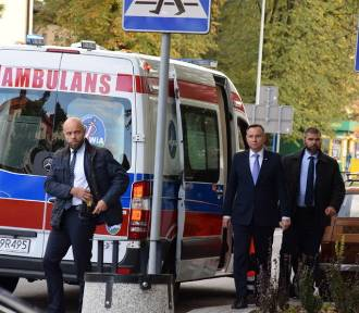 Rzecznik Dudy o wypadku: to był radiowóz z kolumny, lekkie potrącenie