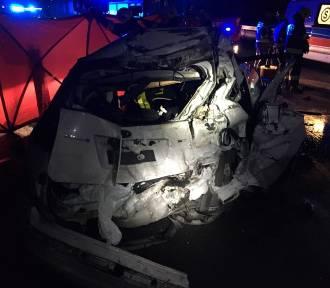 Śmiertelny wypadek na Dk1 pod Częstochową ZDJĘCIA