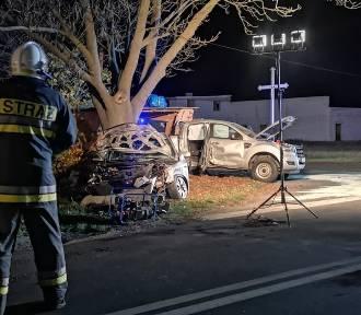 Wypadek na skrzyżowaniu Perzyny - Przyprostynia. Są ranni