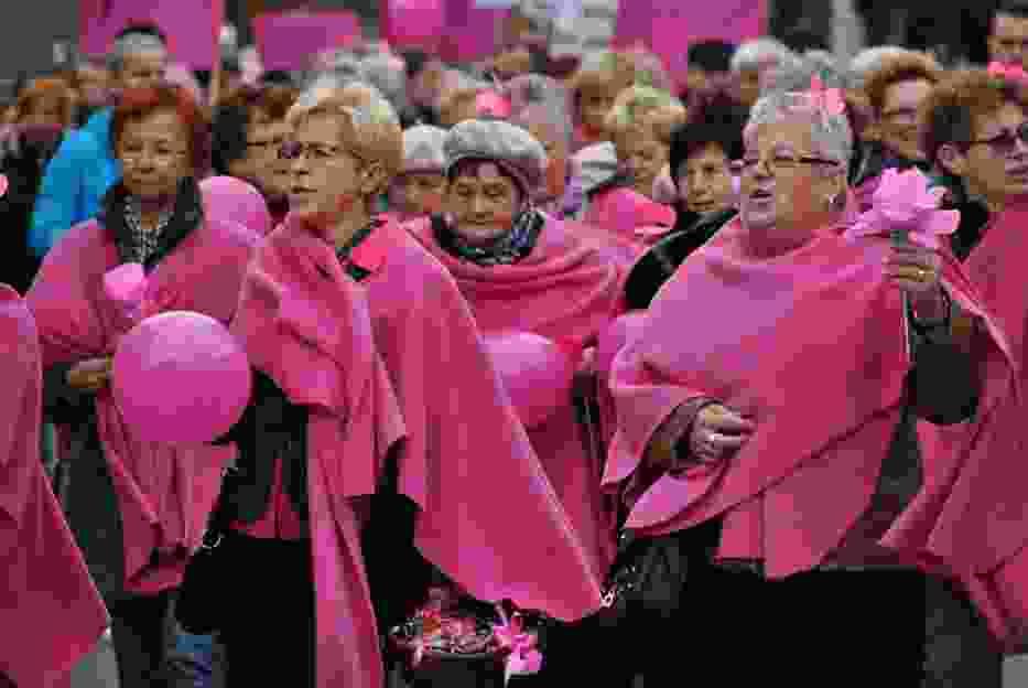 Marsz ku zdrowiu przeszedł ulicami Wolsztyna