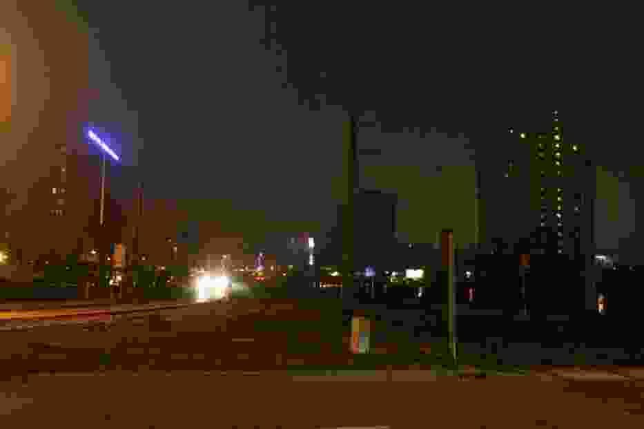 Ciemności w centrum Katowic