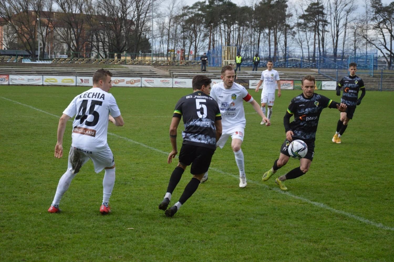 Piłkarze Lechii Zielona Góra przegrali z Pniówkiem Pawłowice 0:2