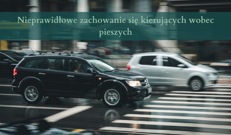 Nieprawidłowe zachowanie się kierujących wobec pieszych 10 punktów karnych: - Omijanie pojazdu, który jechał w tym samym kierunku, lecz zatrzymał się w celu ustąpienia pierwszeństwa pieszym