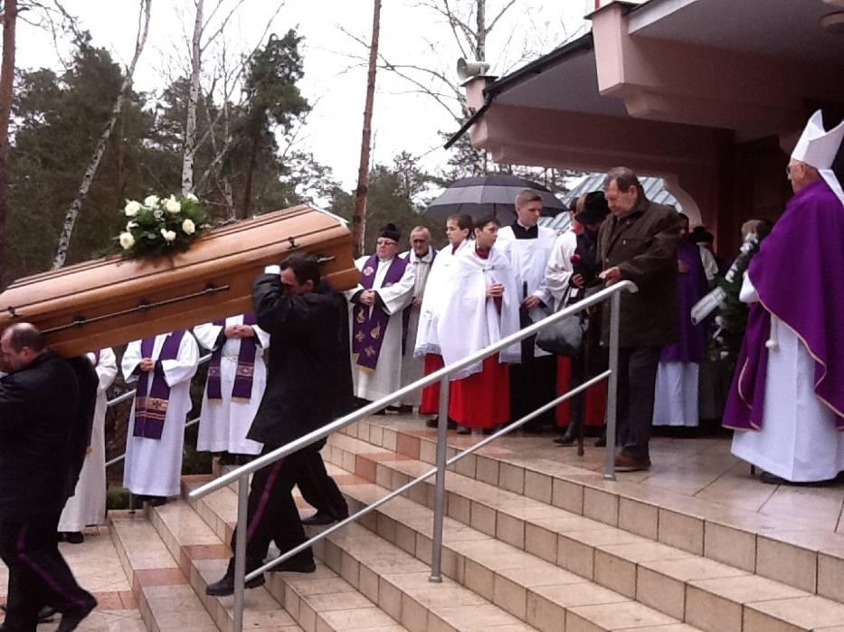 Pogrzeb ks. prałata Stanisława Janika