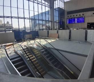Są nowe schody ruchome na dworcu w Katowicach ZDJĘCIA