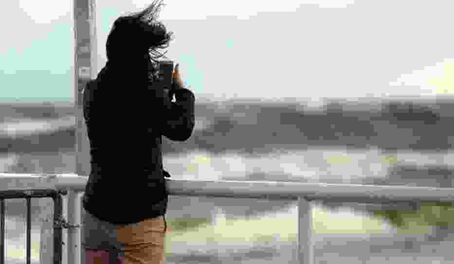 Silny wiatr i opady deszczu na Pomorzu