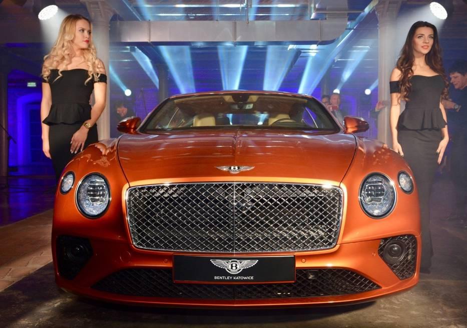 Bentley pokazał Continentala GT