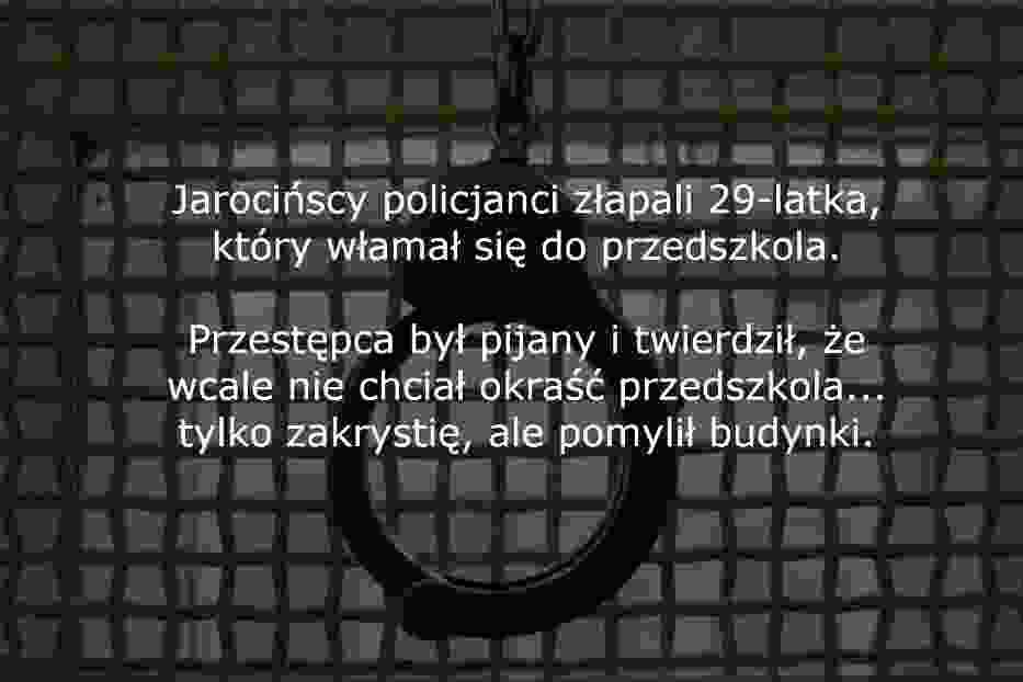 Najgłupsi przestępcy z Wielkopolski