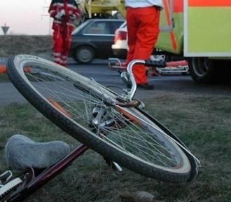 Wypadek z udziałem rowerzysty w Siedlątkowie i na autostradzie A2 na terenie gminy Dalików. Kolizja