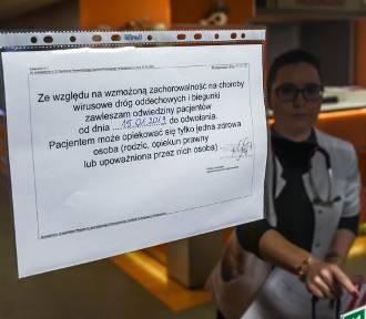 Grypa w regionie. Zakazy odwiedzin w szpitalach!