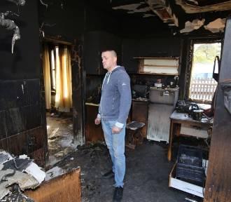 Stracili wszystko w pożarze. Młodzi rodzice w rozpaczy, pomóżmy