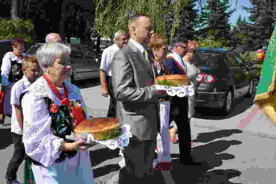 Dożynki Gminne w Gromcu służą podtrzymaniu tradycji