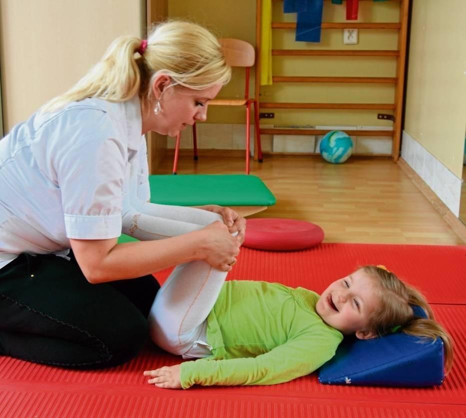 Dzieci w zespole terapeutycznym korzystają z wielu zabiegów