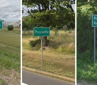 Dziwne i śmieszne nazwy miejscowości na Pomorzu
