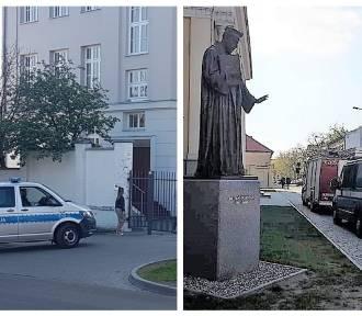 Matura 2019 we Włocławku. Niespokojny ranek - znów alarmy bombowe w szkołach [zdjęcia]