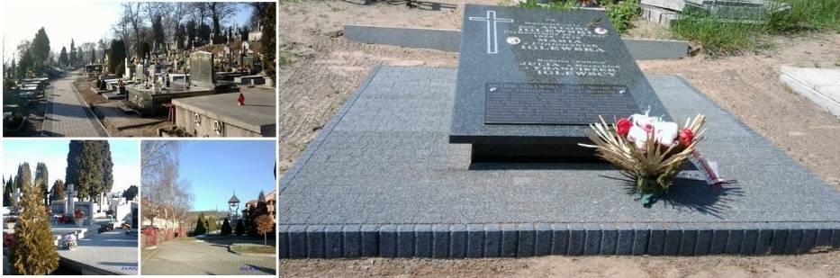 Miejsce spoczynku Antoniego Iglewskiego na cmentarzu w Radziejowie