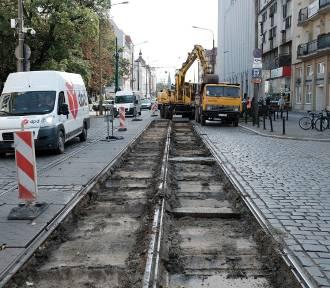 Ruszył remont Dąbrowskiego - zobaczcie, jak wygląda teraz ulica [ZDJĘCIA]