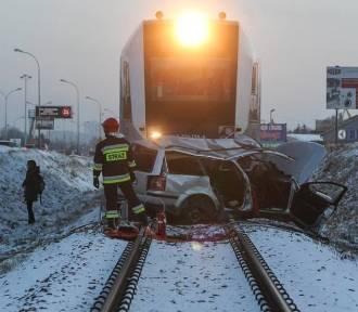 Wypadki na przejazdach kolejowych - zobacz ku przestrodze
