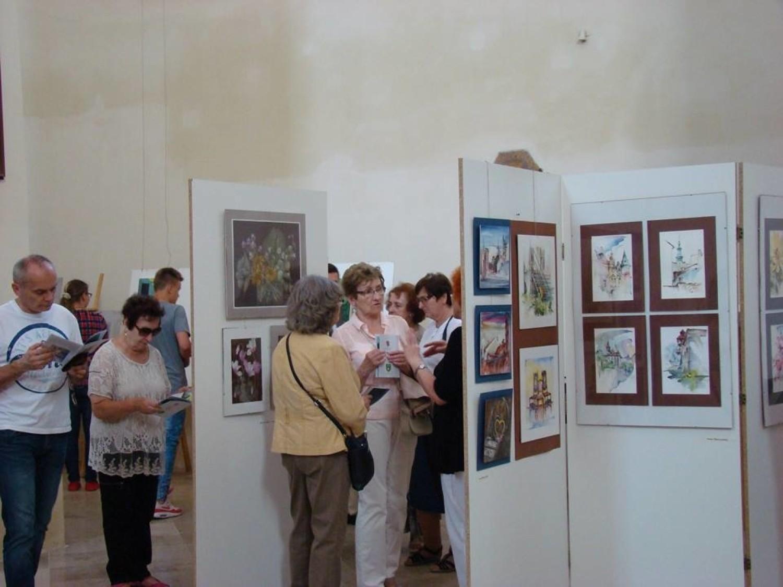 Podczas otwarcia wystawy w kościele podominikańskim przy ul