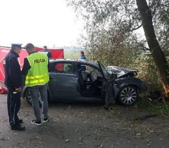 Wypadek w Orszewicach. Nie żyje 20-letni kierowca